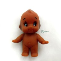 WSB003BRN Kewpie Baby 5cm Tall Mini Figure 丘比娃娃 站立 啡