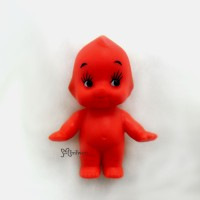 WSB003RED Kewpie Baby 5cm Tall Mini Figure 丘比娃娃 站立 紅