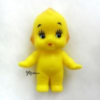 WSB003YEW Kewpie Standing Baby 5cm Mini Figure 丘比娃娃 站立 黃