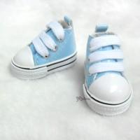 YK02BLE Monchhichi S Size MCC Doll Shoes Blue