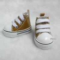 YK02BRN Monchhichi S Size MCC Doll Shoes Brown