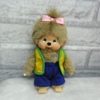 Monchhichi S Size MCC Outfit Vest +Short Pants YLM005YEW