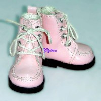 Yo-SD bjd Dollfie Doll Leeke Shoes Hiking Boots Pink SHU042PNK