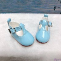 Yo SD BJD Doll Maryjane School Shoes Lt. Blue SHU050LBE