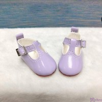 Yo-SD BJD Doll Maryjane School Shoes Purple SHU050PUE