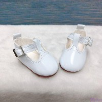 Yo-SD BJD Dollfie Doll Maryjane School Shoes White SHU050WHE
