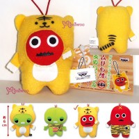 "Tiger Fuji TV Mukku 3"" Cell Phone Strap Mascot Plush"