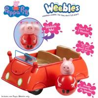Peppa Pig Weebles Push-Along Wobbily Car 51211