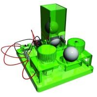親子 兒童 科學玩具 DIY 電子噴波波機 KJS-3