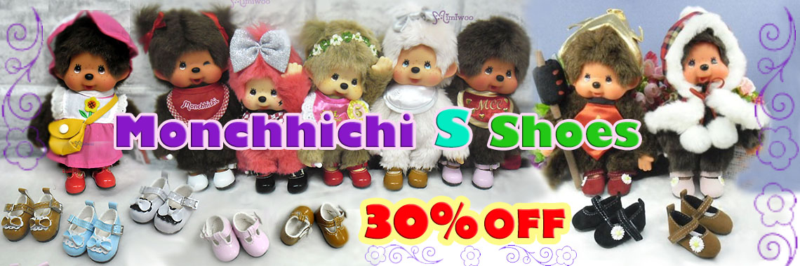 Monchhichi S Size Shoes ~ 30% OFF