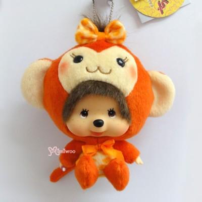 Monchhichi Big Head MCC x Chamekko Keychain Monkey Chikita 220560