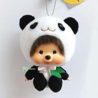 Monchhichi Big Head MCC x Chamekko Keychain Panda Yan Yan 220590