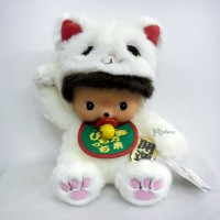 Sekiguchi Bebichhichi Plush L Size Soft Head Lucky Cat 231973