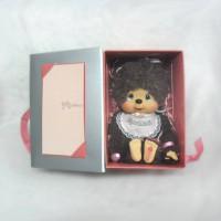 Monchhichi 40th Anniversary M MCC Box Set Poodle Boa Girl 232190