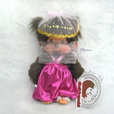 Monchhichi S Size Plush Arabian Night Girl 阿拉伯之夜 阿拉丁 女 233450
