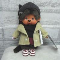 """Monchhichi 8"""" Tokyo Fashion MCC Knit Cap Girl w Shoes 242696"""