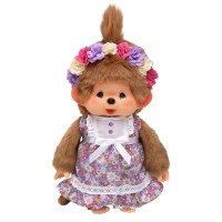 Monchhichi M CanCam x MCC Limited Flower Dress Plush 243433