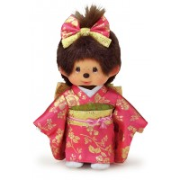 256334  Monchhichi S Size MCC 20cm Gala Kimono Girl