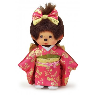 256334  Monchhichi S Size MCC 20cm Gala Kimono Girl ~ PRE-ORDER ~