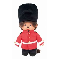 276000 Monchhichi Plush 20cm MCC National London 倫敦兵