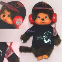 Monchhichi S Size Plush DJ MCC Disc Jockey Boy 294130