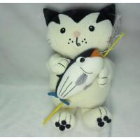 Jacob Cat 25cm 積及貓 毛公仔 - 釣魚 大魚 JC25121B