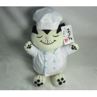 Jacob Cat 25cm 積及貓 毛公仔 - 廚師 JC25131B