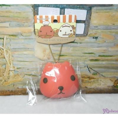 日本限定 Kapibara San Squishy Mascot 水豚君 治愈 吊飾 RED 619358