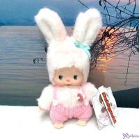 Sekiguchi Bebichhichi Plush Doll Warm Knit Chimutan Bunny 冷衫 公仔 200696