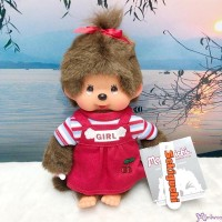 Sekiguchi Monchhichi 20cm New Holiday Dress Red Cherry Girl 200940