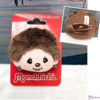 Monchhichi 4cm Mini Plush Safety Pin Brooch MCC Head Boy 毛公仔扣針 201204