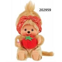 202959 Monchhichi Mon Mon Farm Organic Vegetable S Size Girl Tomato ~ PRE-ORDER ~