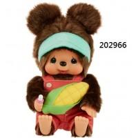 202966 Monchhichi Mon Mon Farm Organic Vegetable S Size Kuma ~ PRE-ORDER ~