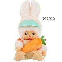 202980 Monchhichi Mon Mon Farm Organic Vegetable L Size Chimutan ~ PRE-ORDER ~