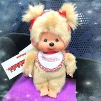 Monchhichi S Size MCC Premium Twin Tail Girl Beige 孖辮 女孩 226733