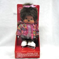 Sekiguchi Monchhichi S Size Winter Sports Ice Dance Girl 232600