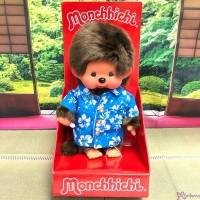 233854 Monchhichi S Size Plush EURO Hawaii Boy