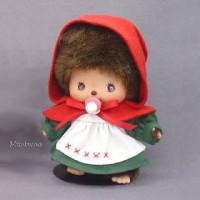 Monchhichi Baby Bebichhichi Fairy Tale Red Hat Cape Girl 234210