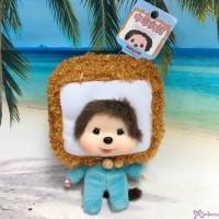 239650 Big Head Monchhichi x Chinese Food Keychain Mascot - Tofu