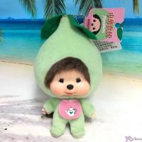 239680 Big Head Monchhichi x Chinese Food Keychain Mascot - Tea