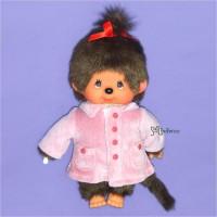 Monchhichi S Size Dressed Pink Coat Girl 239840