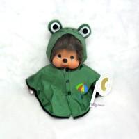 Monchhichi 25cm MCC Poncho deEnjoy Rainy Days Green 240870