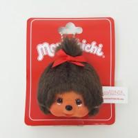 Monchhichi Keychain Face Badge Mascot - MCC Girl 243709