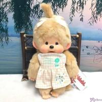 2021 Mon Mon Farm Flower Monchhichi M Size Girl Plush 250950