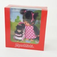 Monchhichi S Size Plush MCC + BBCC Bebichhichi Baby Stroller Gift Box 254930