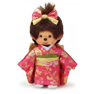 256327+256334  Monchhichi S Size MCC 20cm Gala Kimono Boy & Girl ~ PRE-ORDER ~