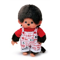 Monchhichi 2020 日本奥運 M Size Thank You 感謝 Overall Boy 261086