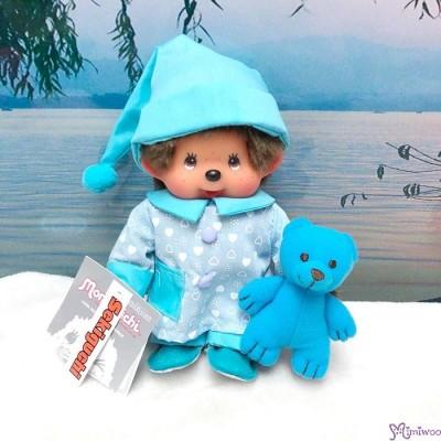 Monchhichi S Size 20cm Pajama Boy 睡衣 262080