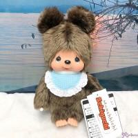 Sekiguchi Monchhichi Friends S Size Plush Kuma Bear 262243