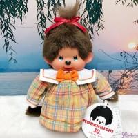 Sekiguchi Monchhichi S Size Checker Dress Girl EX2918